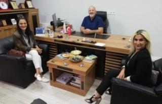 Başkan'dan TRT HABER'e Ziyaret