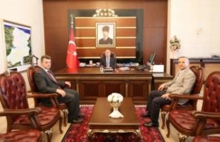 Karasu Belediye Başkanı Sarı'dan Vali Nayir'e...