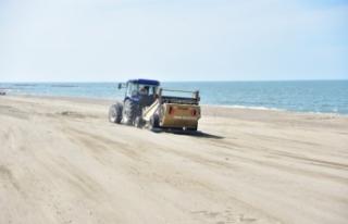 Karasu Sahili Yaza Hazırlanıyor