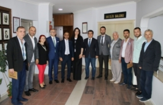 Rumeli Balkan Kültür'den Adapazarı Belediyesi'ne...