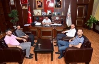 Başkan Sarı, AK Parti ve MHP İlçe Teşkilatlarıyla...