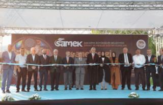 Vali Nayir SAMEK'in Yıl Sonu Sergisinin Açılışını...