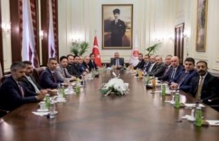 Baro Başkanı Burak Adalet Bakanı Gül'ü ziyaret...
