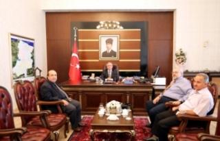 Fenerbahçe Üniversitesi Rektöründen Vali Nayir'e...