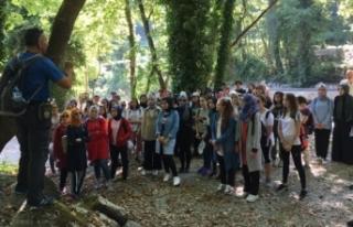 Genç Gezginler Sapanca Yanık'ta yürüdü