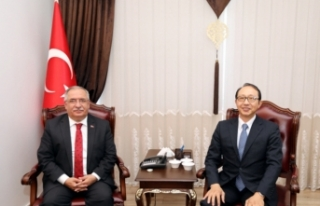 Japonya İstanbul Başkonsolosundan Vali Nayir'e...
