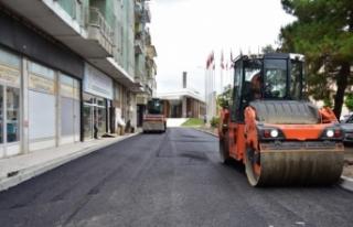 Kültür Caddesi ve 620. Sokakta Asfalt Çalışmaları...