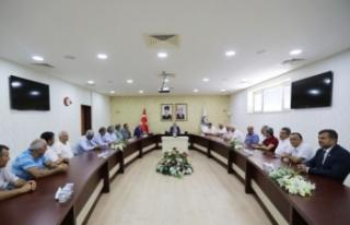 Muhtarlar Federasyonu Yeni Yönetiminden Vali Nayir'e...