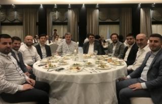 MÜSİAD Başkanı Coşkun, Hazine ve Maliye Bakan...