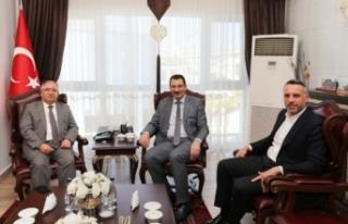 Sakarya Milletvekili Yavuz'dan Vali Nayir'e Ziyaret