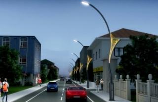 Alifuatpaşa Suat Yalkın Caddesi'nde çalışmalar...