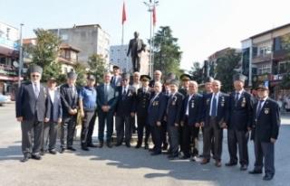Gaziler Günü Hendek'te törenle kutlandı