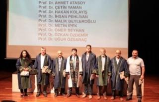 SUBÜ'nün Akademik Başarıları ödüllendirildi