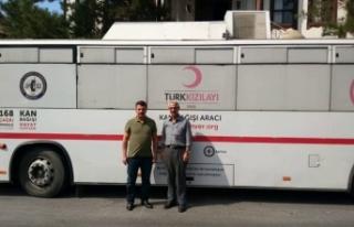 """Taraklı'da """"Kan Bağışı Kampanyası"""" düzenlendi"""