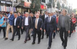Amatör Spor Haftası Etkinlikleri Kortej Yürüyüşü...