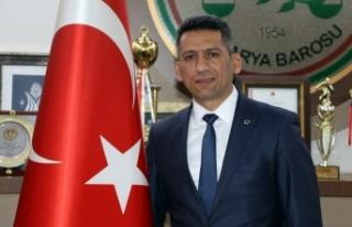 Baro Başkanı Burak'tan Yargı Reformu açıklaması
