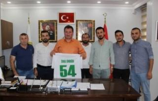 Başkan Gündoğdu Ferizlispor yönetimini ağırladı
