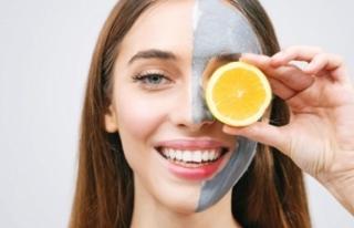 Lekelere karşı limon maskesi!