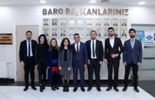 Genç avukatlar başkanını seçti