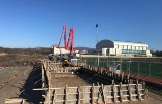 400 kişilik yenitribün inşa ediliyor