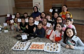 Çocuklar SGM'de enerji tasarrufuna dikkat çekti