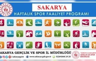 Gençlik ve Spor İl Müdürlüğü Haftalık Programı...