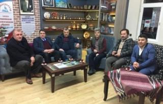 Trabzonlular Derneği'ne ziyaretler sürüyor