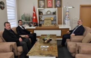 Başkan KILIÇ'a kardeş belediyeden ziyaret