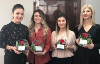 Kuban Gold, 8 Mart'ı çiçeklerle kutladı
