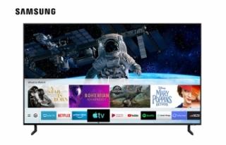 Öğrenciler uzaktan eğitim için Samsung'un akıllı...