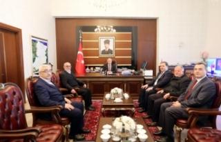 Sakarya VİB Turizm'in Yeni Yönetiminden Vali Nayir'e...