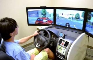 Sürücü adaylarının psiko-teknik testleri dijital...