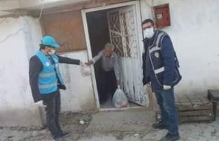Taraklı'da Vefa Sosyal Destek Grubu Görevi Seferber...