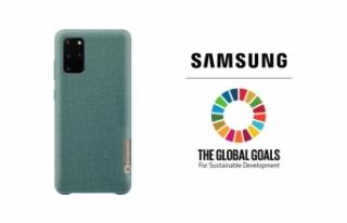 Samsung'dan çevre dostu Galaxy S20+ telefon kılıfları