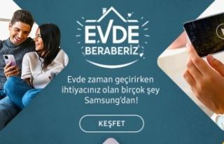 Samsung'tan evde zaman geçirmenizi keyifli hale...