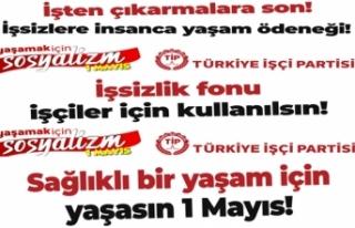 Türkiye İşçi Partisi Sakarya İl Örgütü Basın...