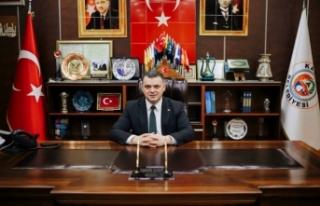 Başkan İshak Sarı 19 Mayıs münasebetiyle bir...