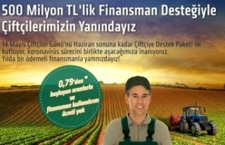Kuveyt Türk'ten çiftçilere 500 milyon TL'lik...