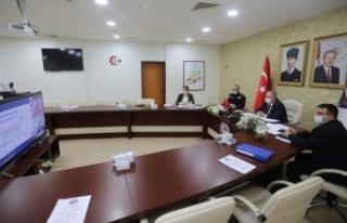 Marmara Bölgesi Emniyet ve Asayiş Toplantısı Videokonferans...