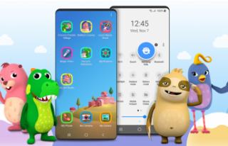 Samsung Kids arayüz uygulaması ile akıllı cihazlarda...