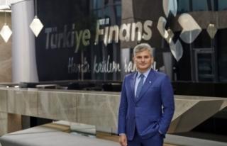 Türkiye Finans ilk çeyrekte 37,4 milyar lira fon...