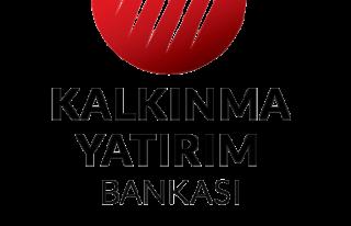 Türkiye Kalkınma ve Yatırım Bankası, 2020'nin...