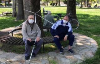 Yaşlılar YADEM ekipleriyle yürüdü