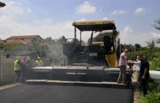 5 mahalle sıcak asfaltla buluştu