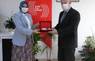 Durmuş'tan BİK Müdürü Çorbacı'ya Ziyaret