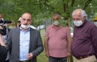 Erenler De 8 Kırsal Mahallede Doğal Gaz İçi̇n...