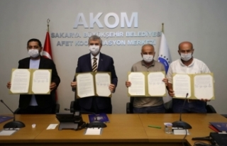 """İşbirliği protokolü imzalandı """"Sakarya'da..."""