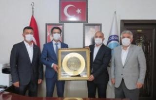 Başkan Kılıç'tan kardeş belediyeye ziyaret