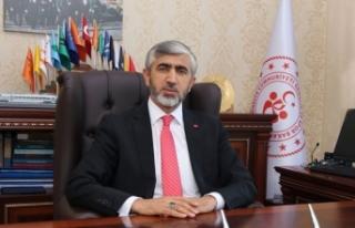Gençlik ve Spor İl Müdürü Arif Özsoy Kurban...