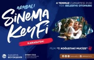 Sinema severler Karasu'da buluşacak